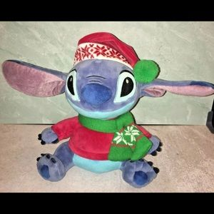 LILO & STITCH SANTA STITCH HOLIDAY PLUSH